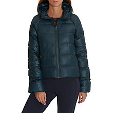 Buy Betty & Co. Quilted Jacket, Teal Online at johnlewis.com