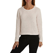 Buy Betty & Co Chunky Knit Jumper, Vanilla Beige Online at johnlewis.com