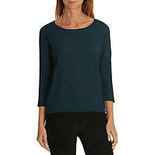 Buy Betty & Co. Textured Top, Teal Online at johnlewis.com
