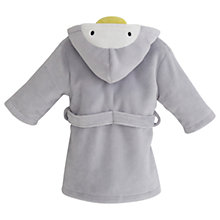 Buy My 1st Years Penguin Fleece Robe, Grey Online at johnlewis.com