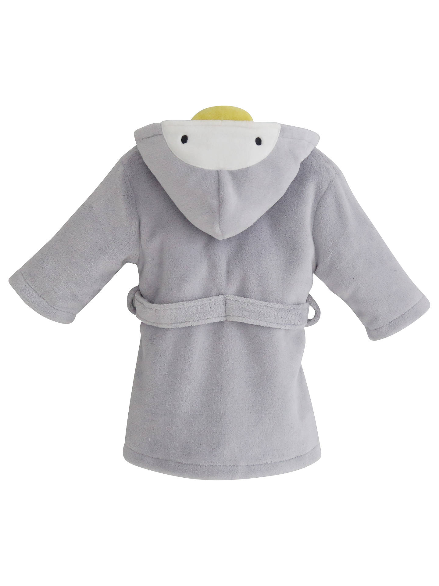6b024c5b0 Buy My 1st Years Penguin Fleece Robe, Grey, 0-6 months Online at ...