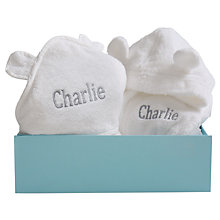 Buy My 1st Years Baby Splash & Snuggle Gift Set, White Online at johnlewis.com