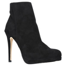 Buy Carvela Sketch Stiletto Heeled Ankle Boots, Black Online at johnlewis.com