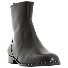 Buy Dune Pine Stud Embellished Ankle Chelsea Boots, Black Online at johnlewis.com
