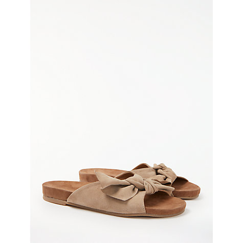 Buy John Lewis Lacie Knot Slider Sandals Online at johnlewis.com