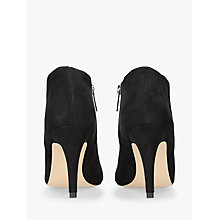 Buy Carvela Serene Stiletto Heeled Ankle Boots, Black Online at johnlewis.com