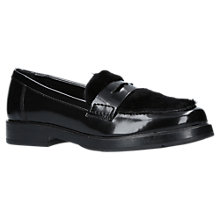 Buy Carvela Labrador Loafers, Black Online at johnlewis.com
