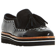 Buy Dune Glorya Flatform Loafers Online at johnlewis.com