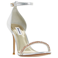 Buy Dune Myrtle Embellished Stiletto Heeled Sandals Online at johnlewis.com