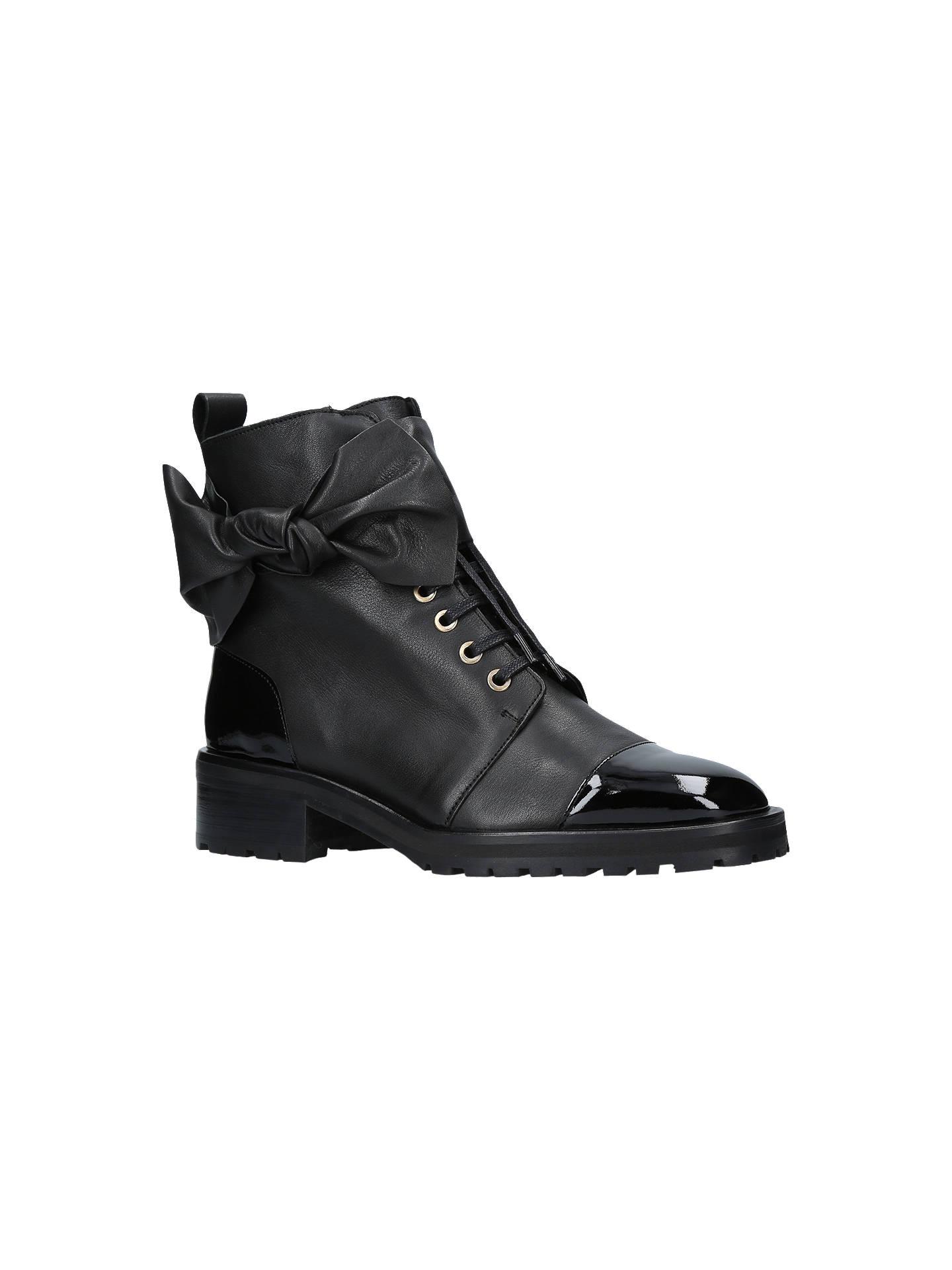 b8695e83e0d Buy Kurt Geiger London Daze Bow Trim Lace Up Ankle Boots