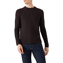 Buy Jigsaw Wool Cashmere Waffle Jumper Online at johnlewis.com