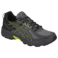 Buy Asics GEL-VENTURE 6 Men's Trail Running Shoes, Stone Grey Online at johnlewis.com