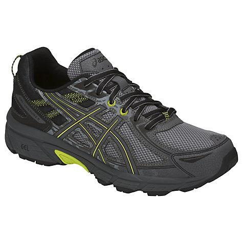Asics Gel Venture 6 Men S Trail Running Shoes Stone Grey Online At Johnlewis