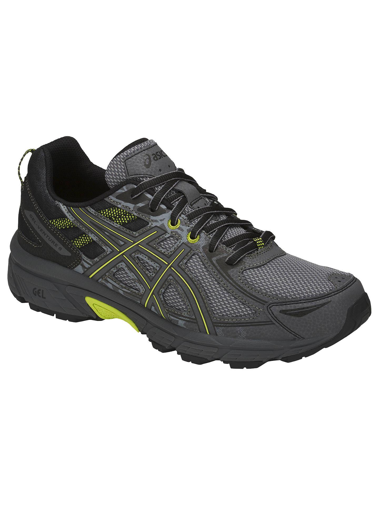0f31f32f Asics GEL-VENTURE 6 Men's Trail Running Shoes, Stone Grey at John ...