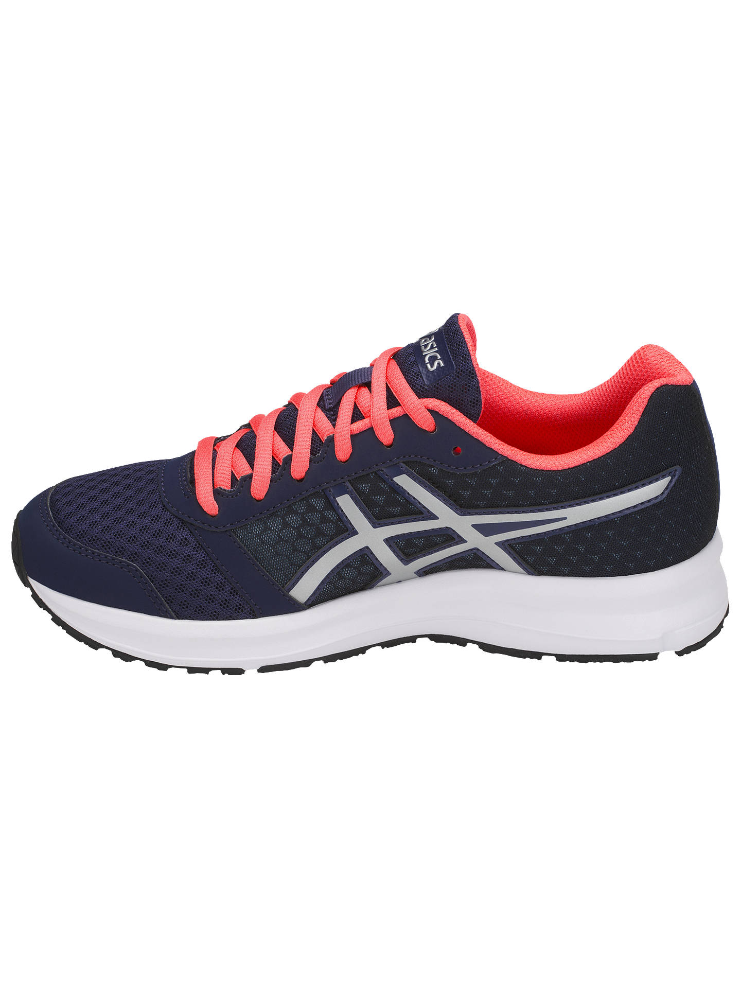 malta Azul semiconductor  Asics Patriot 9 Women's Running Shoes | Blue/Silver at John Lewis & Partners