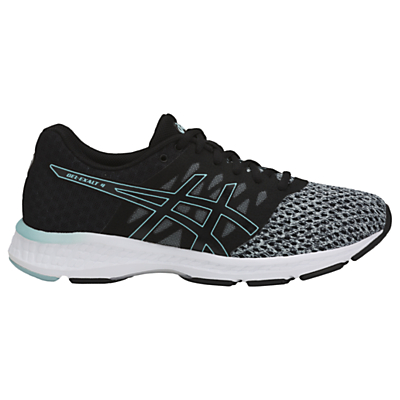 Asics GEL-Exalt 4 Women's Running Shoes, Black/Grey/Blue