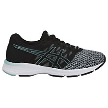 Buy Asics GEL-Exalt 4 Women's Running Shoes, Black/Grey/Blue Online at johnlewis.com