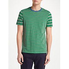 Buy John Lewis Axel Stripe T-Shirt, Green Online at johnlewis.com