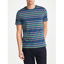Buy John Lewis Antonio Stripe T-Shirt, Navy Online at johnlewis.com