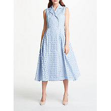 Buy Bruce by Bruce Oldfield Check Sleeveless Dress, Blue Online at johnlewis.com