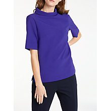Buy Bruce by Bruce Oldfield Picture Collar Top, Cobalt Online at johnlewis.com