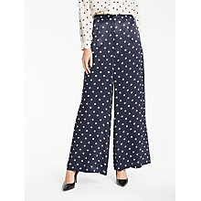 Buy Bruce by Bruce Oldfield Spot Trousers, Blue Online at johnlewis.com