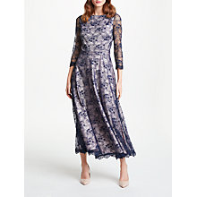Buy Bruce by Bruce Oldfield Lace 3/4 Sleeve Dress, Navy Online at johnlewis.com