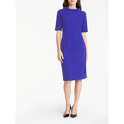 Bruce by Bruce Oldfield Picture Collar Dress, Cobalt