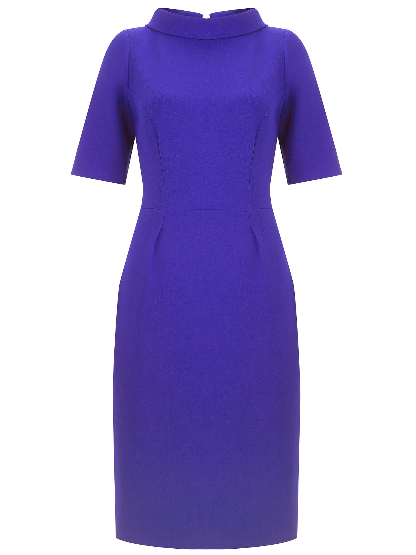 BuyBruce by Bruce Oldfield Picture Collar Dress, Cobalt, 14 Online at johnlewis.com