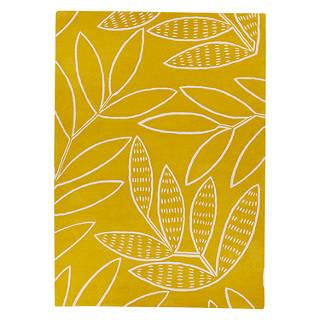 Missprint Laurus Rug Yellow