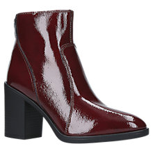 Buy KG by Kurt Geiger Sly Block Heel Ankle Boots Online at johnlewis.com