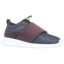 Buy Kurt Geiger Lawrence Toggle Fastening Trainers, Navy Online at johnlewis.com