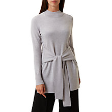 Buy Hobbs Leona Jumper, Grey Marl Online at johnlewis.com