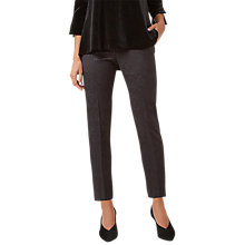 Buy Hobbs Monika Trousers, Black Online at johnlewis.com