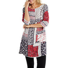 Buy White Stuff Patch It Print Tunic, Multi Online at johnlewis.com