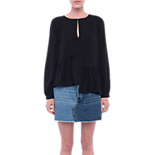 Buy French Connection Lisette Crepe Top Online at johnlewis.com