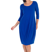 Buy Chesca Pintuck Detail Jersey Dress, Sapphire Online at johnlewis.com