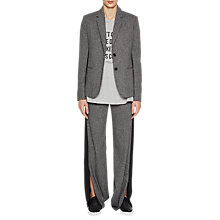 Buy French Connection Antonia Tweed Jacket, Dark Grey/Black Online at johnlewis.com