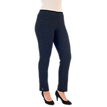 Buy Chesca Jacquard Slim Stretch Trousers Online at johnlewis.com