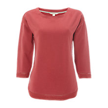 Buy White Stuff Midnight Jersey T-Shirt, Nava Pink Online at johnlewis.com