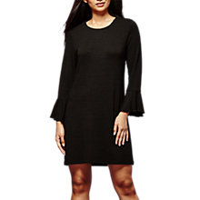 Buy Yumi Wool Touch Tunic Dress, Black Online at johnlewis.com