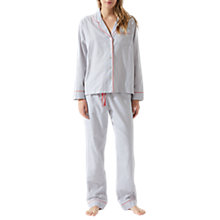 Buy Jigsaw Florence Cotton Blend Pyjamas Online at johnlewis.com