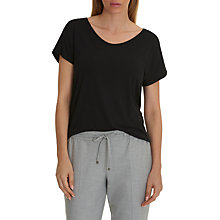 Buy Betty & Co. Short Sleeve T-Shirt, Black Online at johnlewis.com