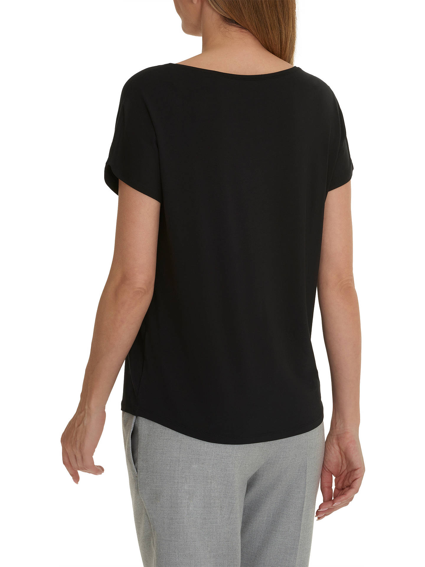 BuyBetty & Co. Short Sleeve T-Shirt, Black, S Online at johnlewis.com