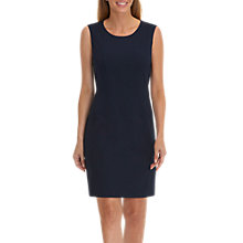 Buy Betty Barclay Round Neck Sleeveless Shift Dress, Night Sky Online at johnlewis.com