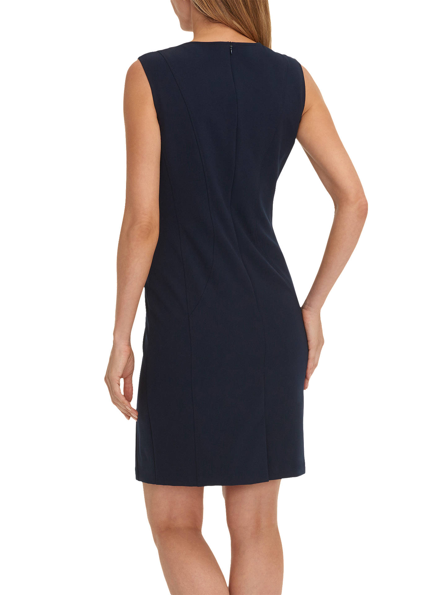 BuyBetty Barclay Round Neck Sleeveless Shift Dress, Night Sky, 8 Online at johnlewis.com
