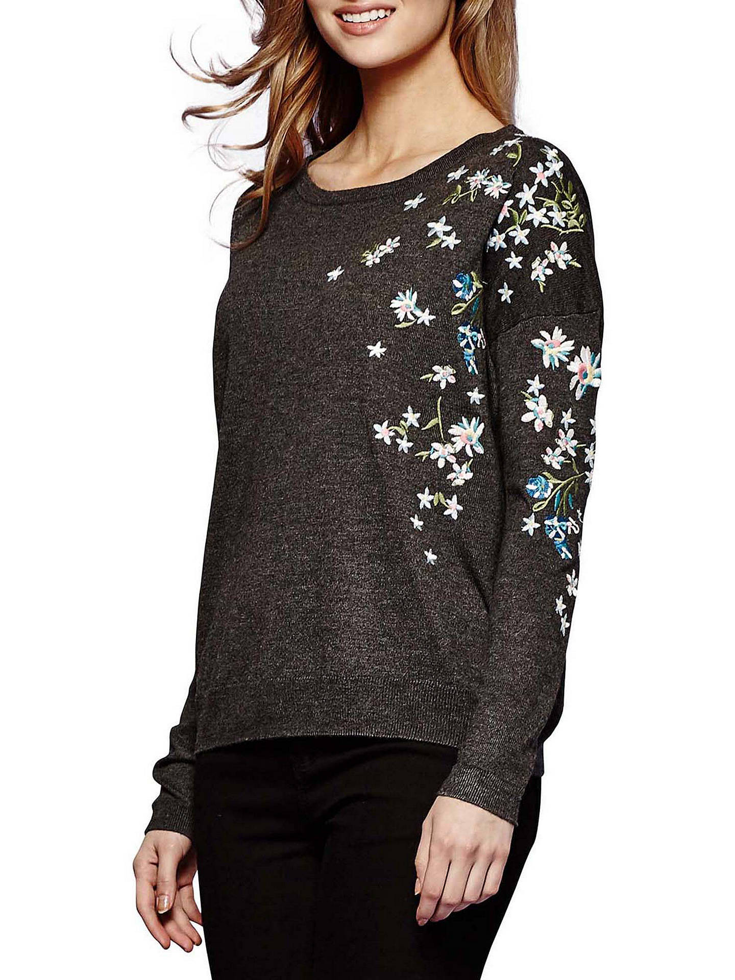 e37842b063d Buy Yumi Embroidered Floral Jumper