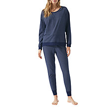 Buy Jigsaw Freya Cotton Rich Jersey Pyjamas Online at johnlewis.com