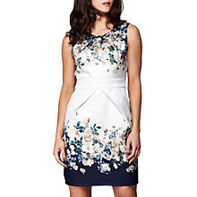 Buy Yumi Rose Bouquet Skater Dress, Ivory Online at johnlewis.com