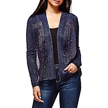 Buy Yumi Star Print Cardigan, Dark Navy Online at johnlewis.com